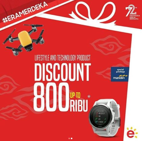 Promotional Discount Up to Rp 800.000 at Erafone