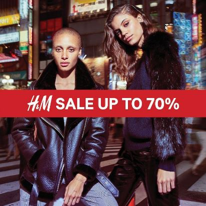 Get Discount Up to 70% From H&M at Central Park Mall