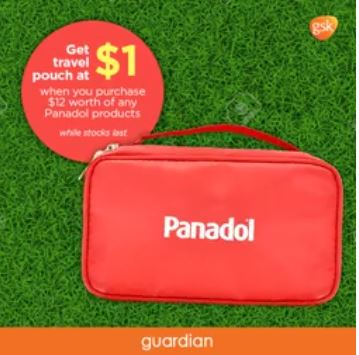 Get Free Travel Pouch at Guardian