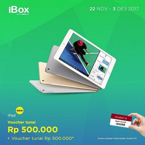 Cash Voucher Up to Rp 1,000,000 at iBox