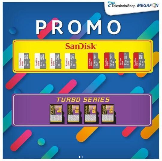 Promo Memory Card at Telesindo Shop