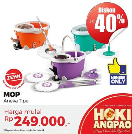 Discount 40%  on MOP Products at Mitra10