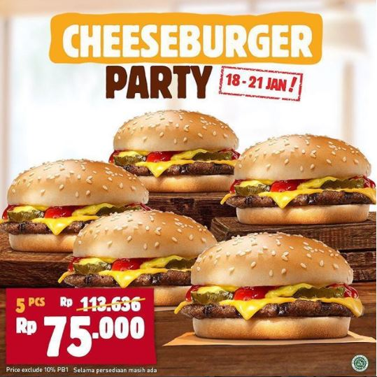 Special Price at Burger King