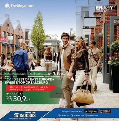 East Europe Promotion at Dwidaya Tour