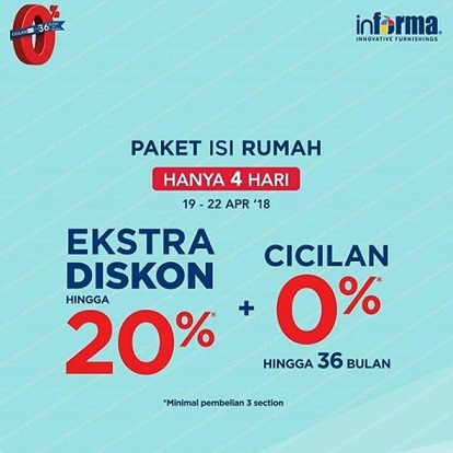 Extra Discount Up to 20% at Informa