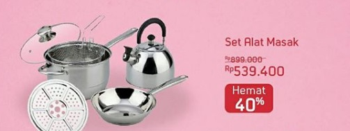 Save 40% Cookware Set at Ace Hardware