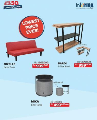 Special Prices Of Informa Furniture Products Hartono Mall Jogja